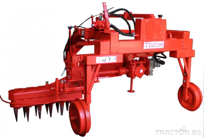 Фрези Лозаро овощарска автоматично отклоняваща се активна зъбна брана CUCCHI ES 4 - Трактор БГ