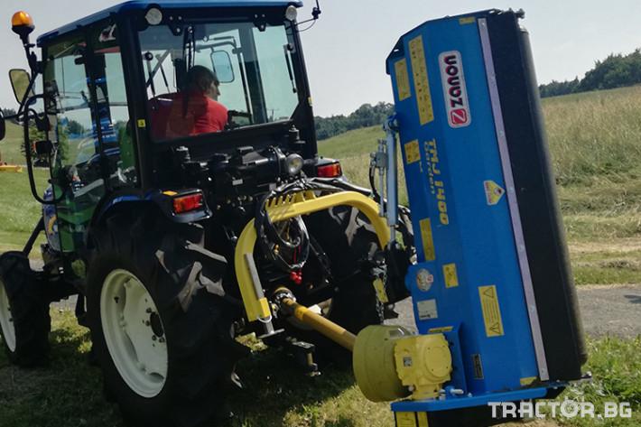 Мулчери Шредер TMJ GARDEN лек тип с голямо странично изместване 1 - Трактор БГ