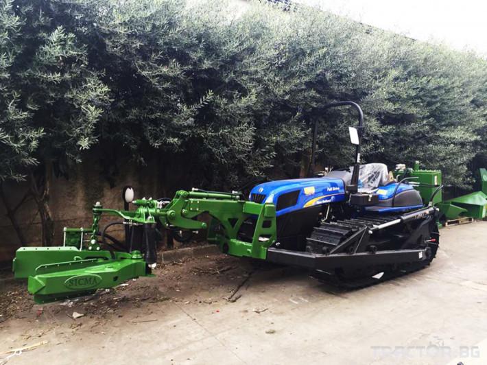 Машини за лозя / овошки Вибрираща глава за бране SICMA модел TF/PL 0 - Трактор БГ