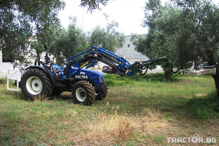 Машини за лозя / овошки Вибрираща глава за бране SICMA модел TF/PL 6 - Трактор БГ